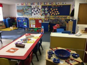 Preschool Area at Lakeview Ave
